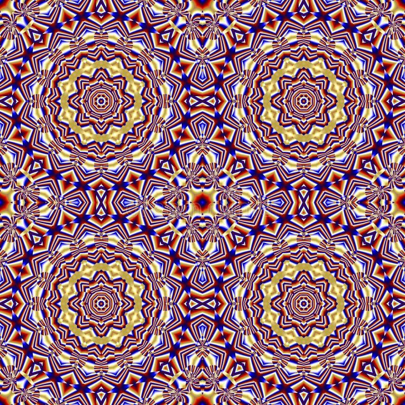 papier peint de mandala de natif am ricain illustration stock illustration du rouge fractale. Black Bedroom Furniture Sets. Home Design Ideas
