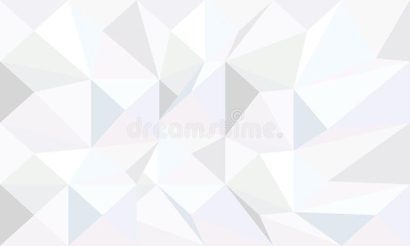 Papier peint de monochrome de triangle illustration de vecteur