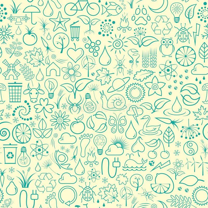 Papier peint de nature illustration stock