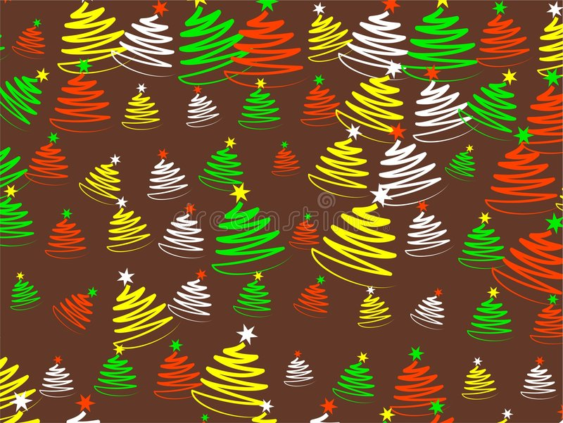 Papier peint de Noël illustration stock