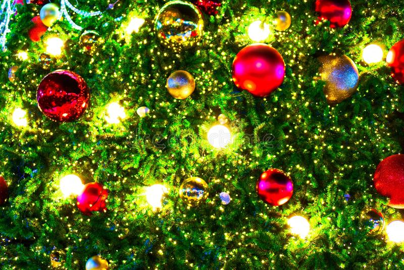 Papier peint de Noël et festival de nouvelle année image stock