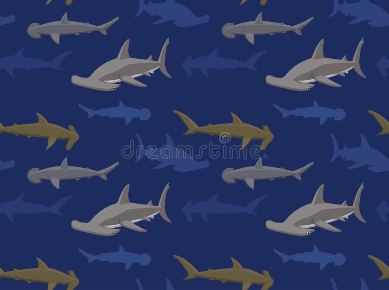 Papier peint 15 de requins illustration stock