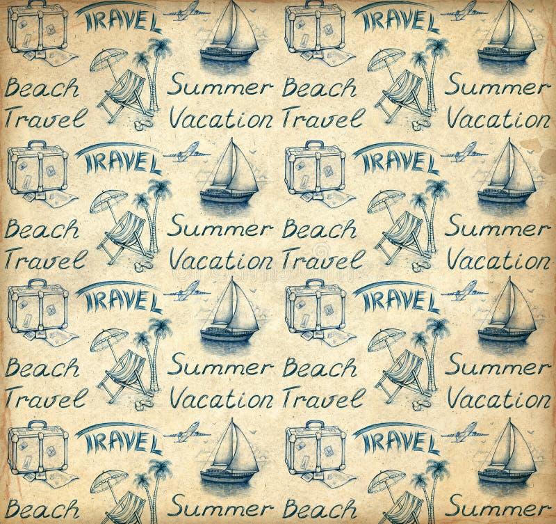 Papier peint de vacances illustration libre de droits