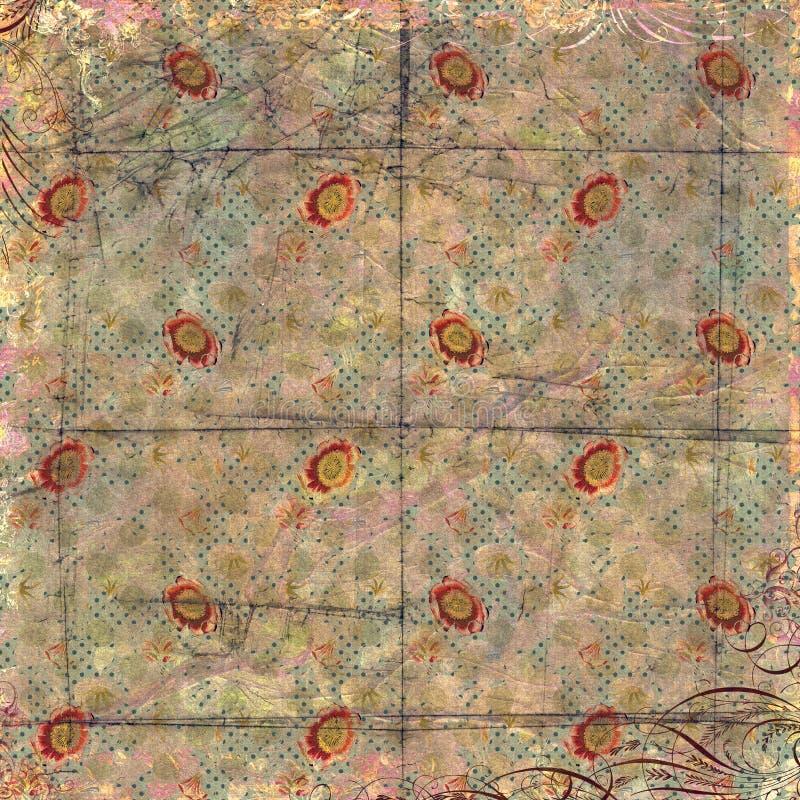 Papier peint de vintage image libre de droits