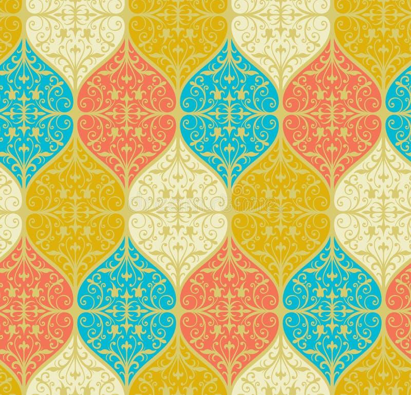 Papier peint floral illustration stock