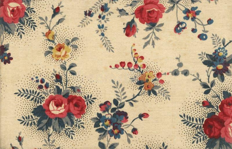 Papier peint floral de toile photographie stock libre de droits