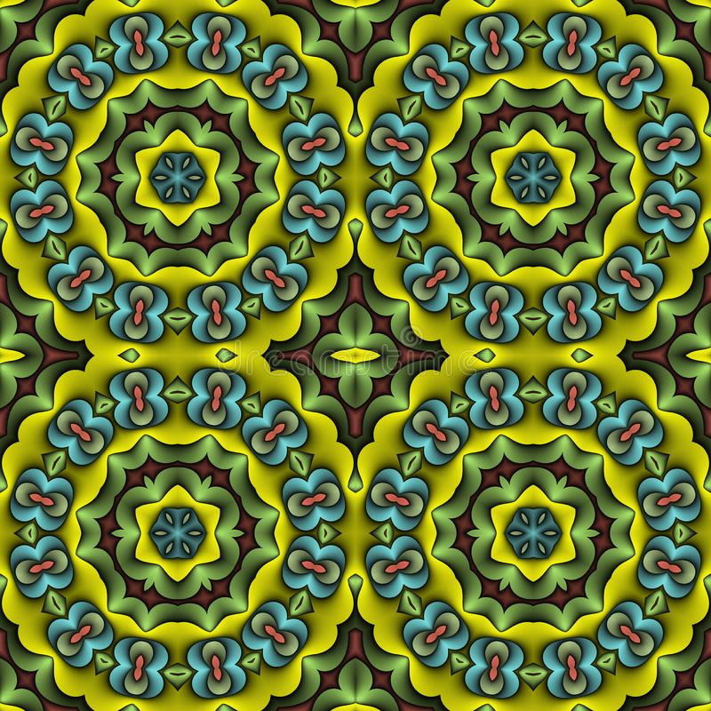 papier peint floral oriental illustration stock illustration du floral fiction 5305509. Black Bedroom Furniture Sets. Home Design Ideas