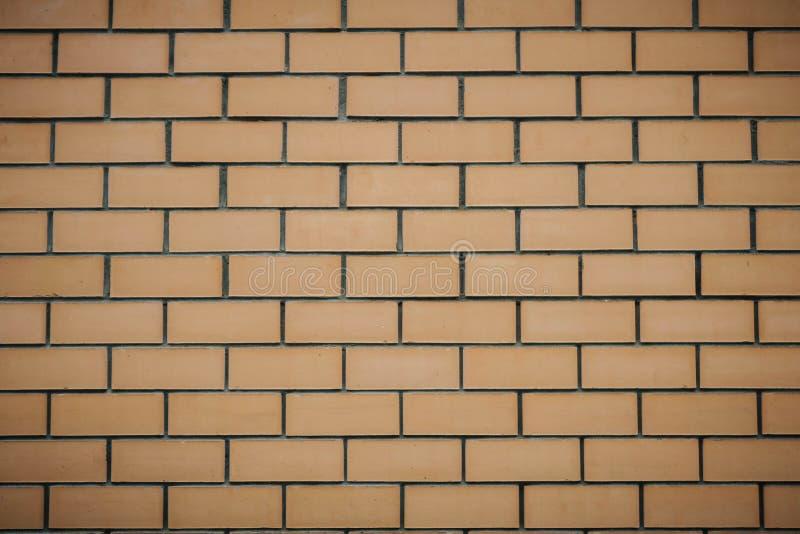 Papier peint horizontal d'architecture de technologie de couleur de ma?onnerie de brique Fond de texture de mur de briques image libre de droits