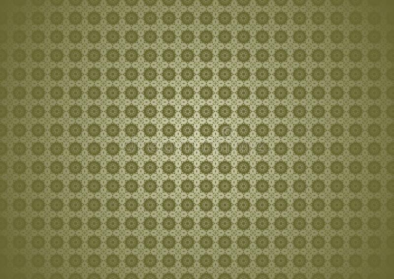 Papier peint islamique arabe chinois de fond de texture d'Imlek Ramadan Festival Brown Grey Pattern de nature florale ornementale illustration libre de droits