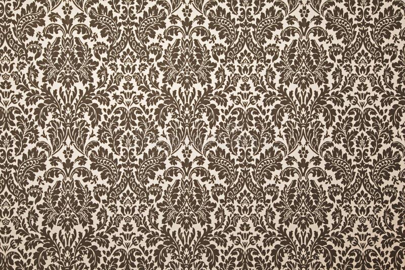Papier peint noir et blanc de configuration. illustration de vecteur