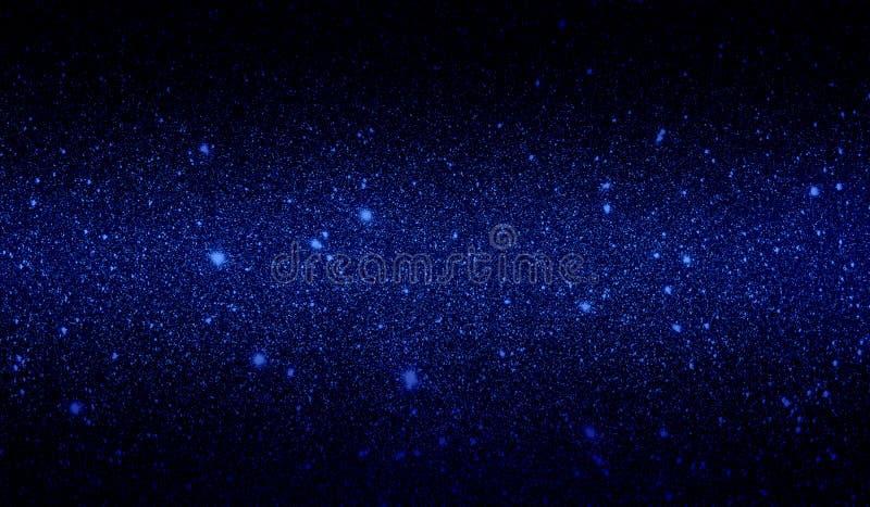 Papier peint ombragé bleu-foncé de scintillement et noir texturisé de fond photographie stock libre de droits