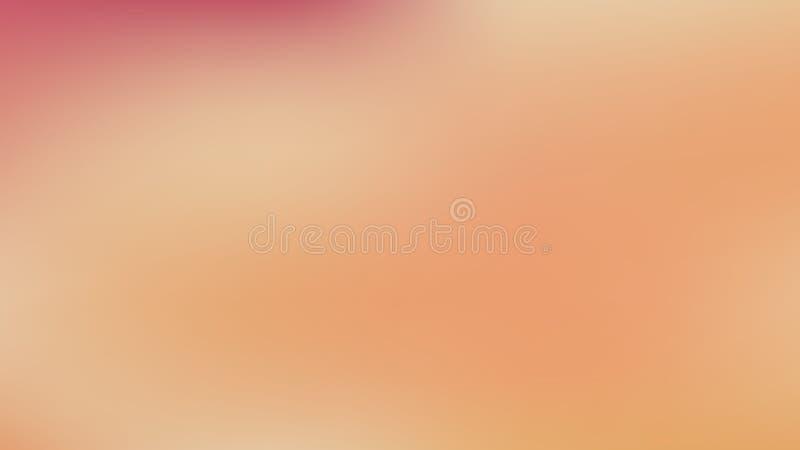 Papier peint Pastel Orange Blur Photo illustration libre de droits