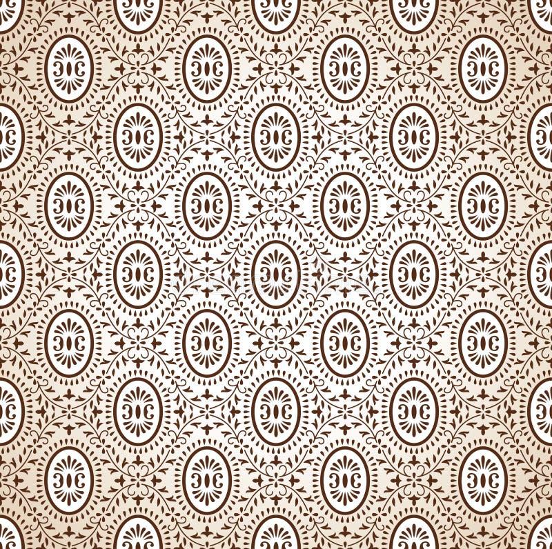 Papier peint riche sans couture illustration de vecteur