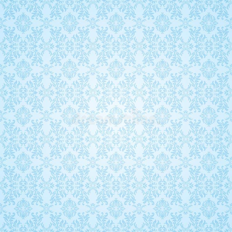 Papier peint sans joint bleu gothique illustration libre de droits