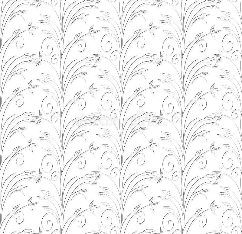 Papier peint sans joint de créateur de vecteur illustration stock
