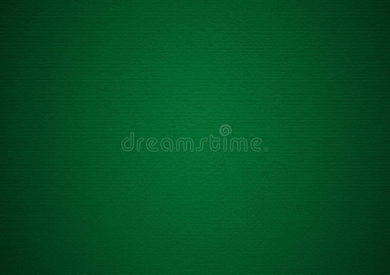 Papier peint simple vert de gradient de fond de vignette images libres de droits