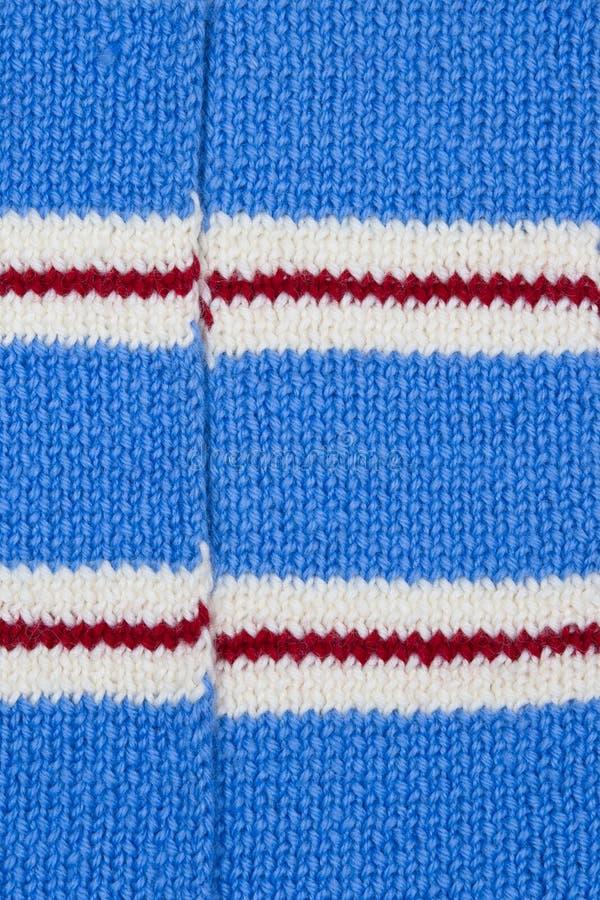 Papier peint tricoté lumineux de texture d'écharpe images libres de droits