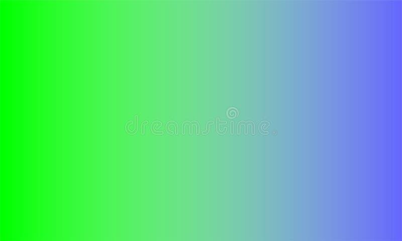 Papier peint vert bleu de fond ombragé par tache floue, illustration de vecteur illustration stock