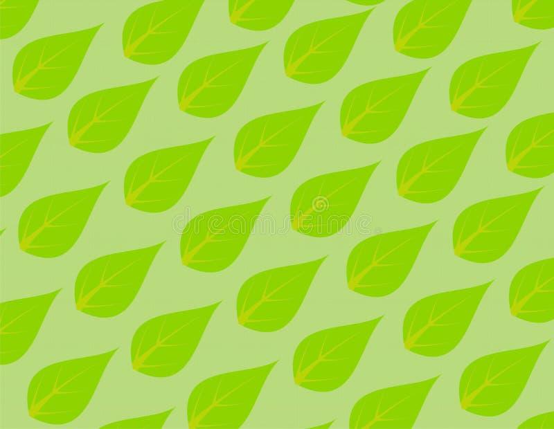 Papier peint vert de feuille photo libre de droits