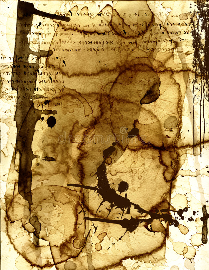 papier plamił xiii obrazy stock