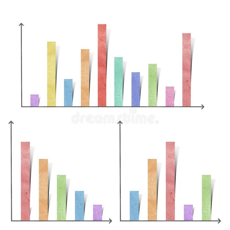 Papier réutilisé par graphique illustration de vecteur
