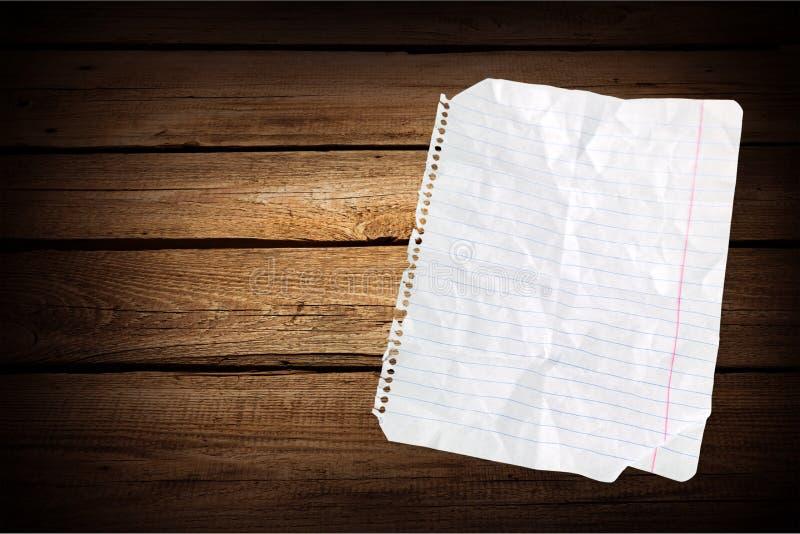 Papier rayé photo stock