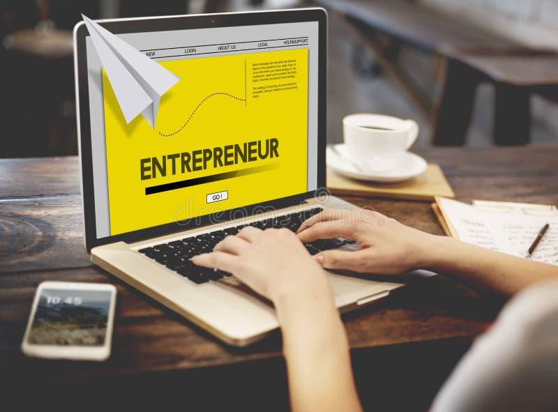Papier Rocket Startup Business Concept photo libre de droits