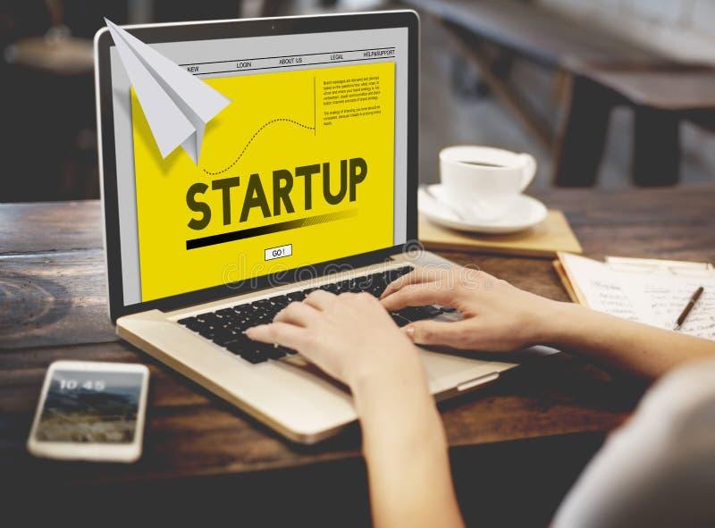 Papier Rocket Startup Business Concept photos libres de droits