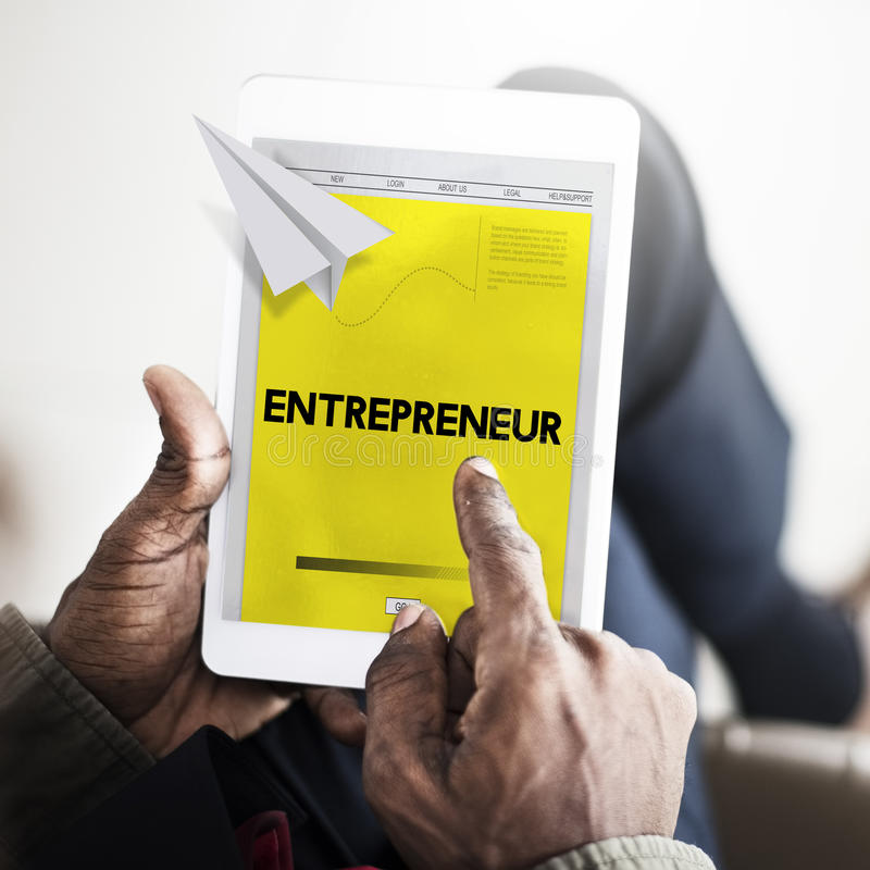 Papier Rocket Startup Business Concept photographie stock libre de droits