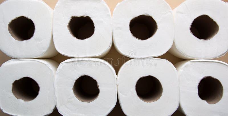 Papier Rolls stockfotografie