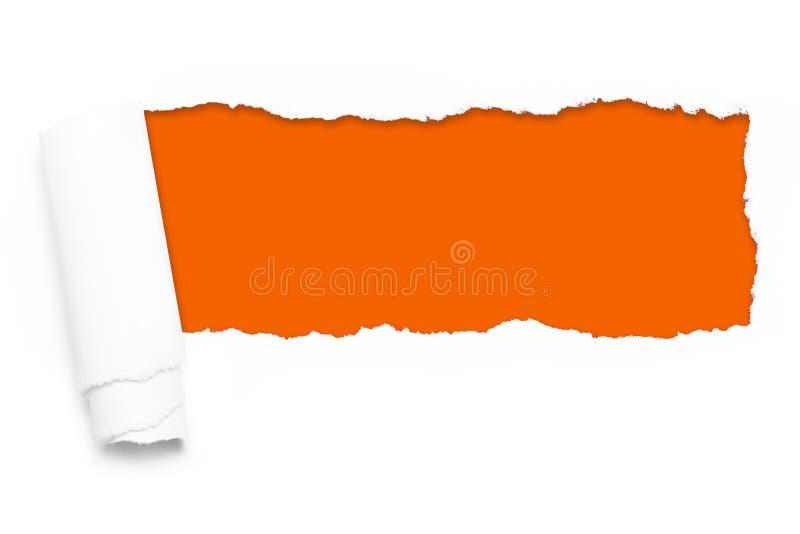 papier rozdzierający obraz stock