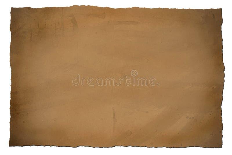 Papier sale de cru photos stock