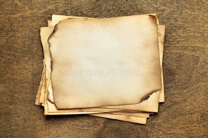 papier stara sterta obraz stock