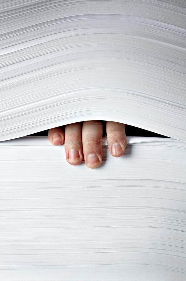 papier sterta zdjęcie stock