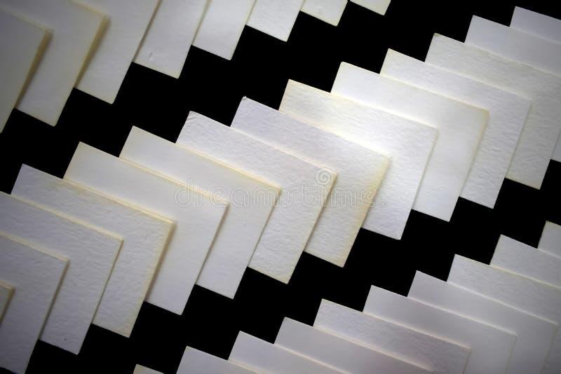 Papier sterty wzoru strona boczna tekstura - obok - zdjęcie stock