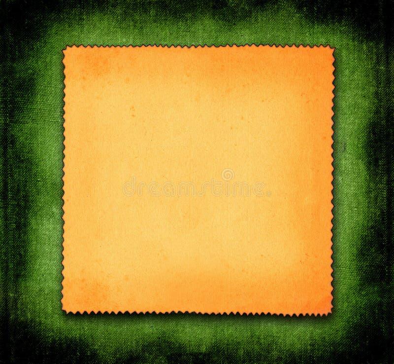 Papier sur le fond vert photos libres de droits