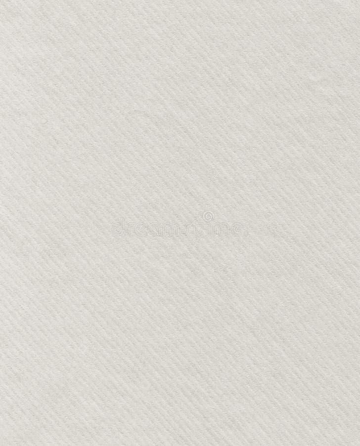 Papier texturisé blanc photographie stock libre de droits