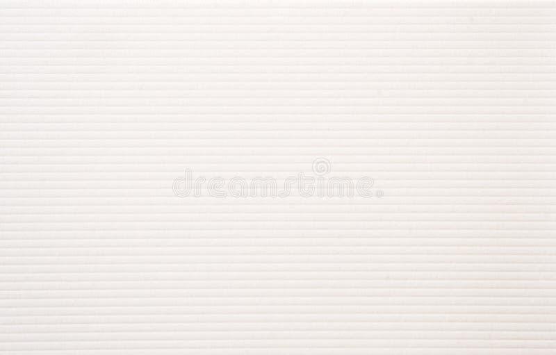 Papier texturisé blanc photographie stock