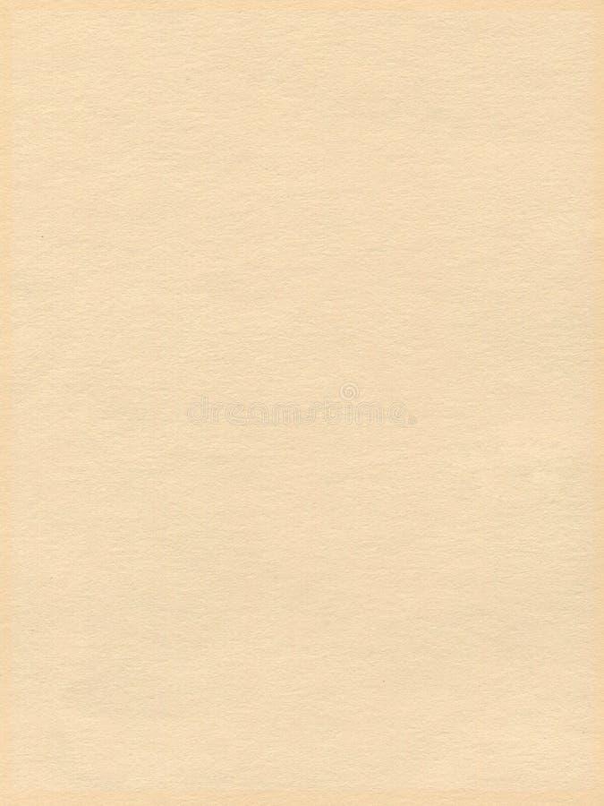 Papier texturisé crème illustration libre de droits