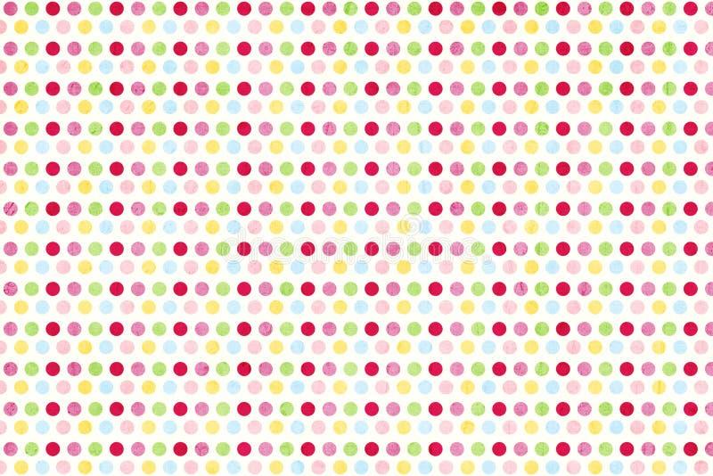 Papier texturisé d'album repéré par sucrerie illustration de vecteur