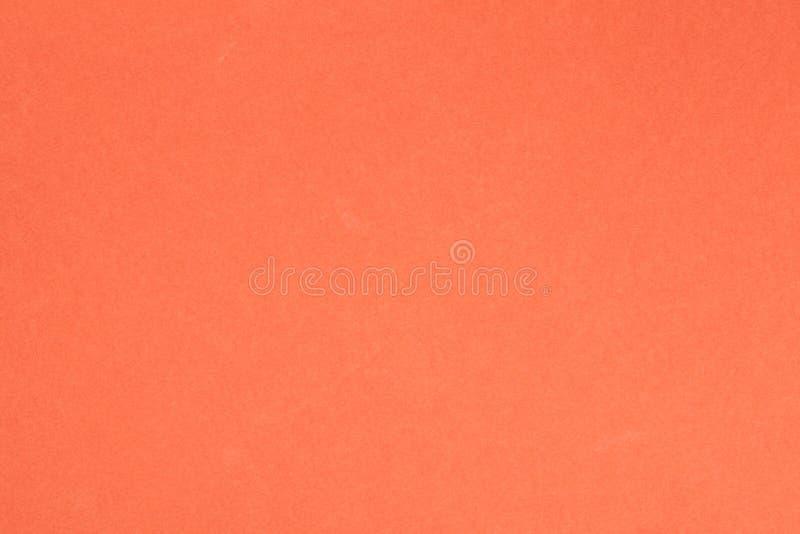Papier texturisé orange photographie stock