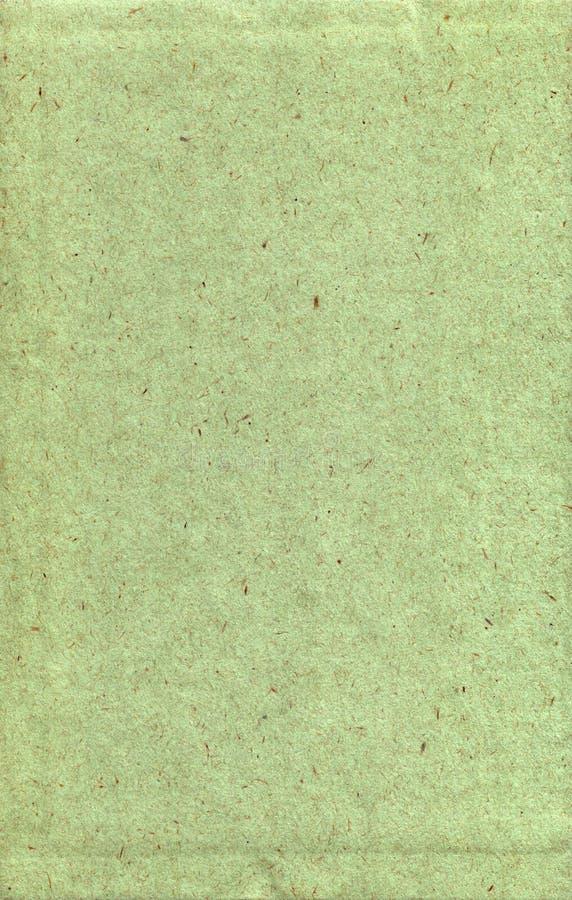 Papier texturisé vert image stock