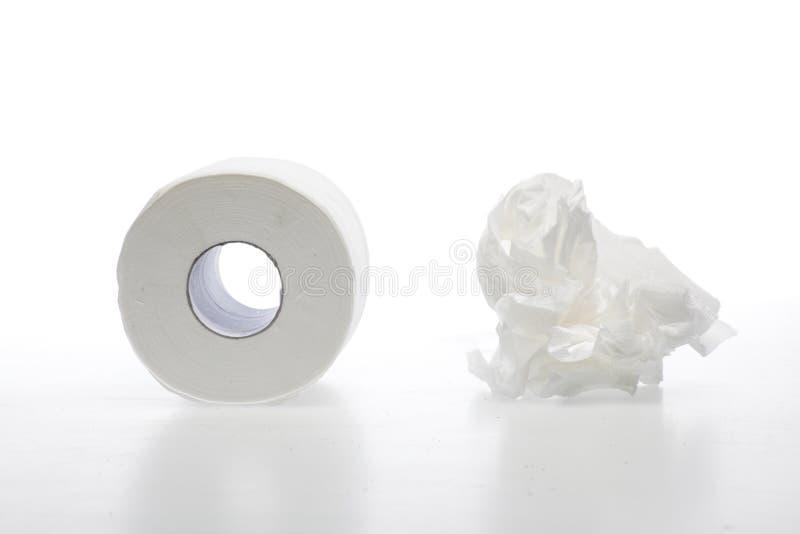Papier toaletowy obrazy stock