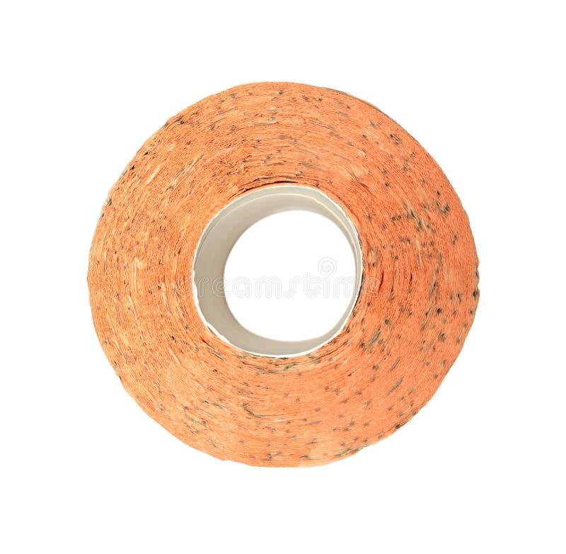 Papier toaletowy pomarańcze obrazy royalty free