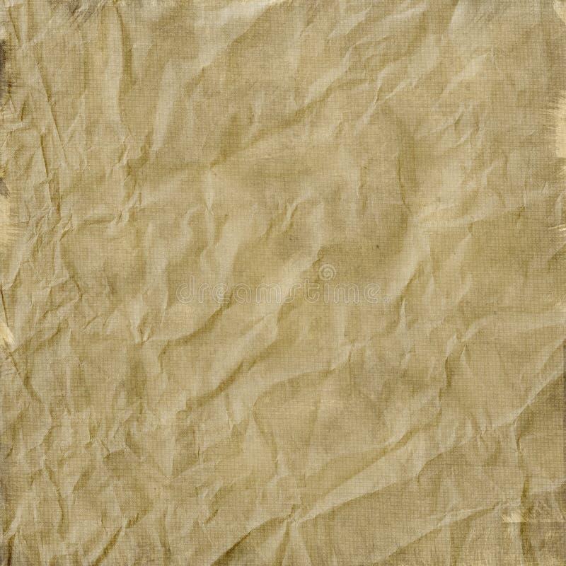 papier zmięty rocznik ilustracji