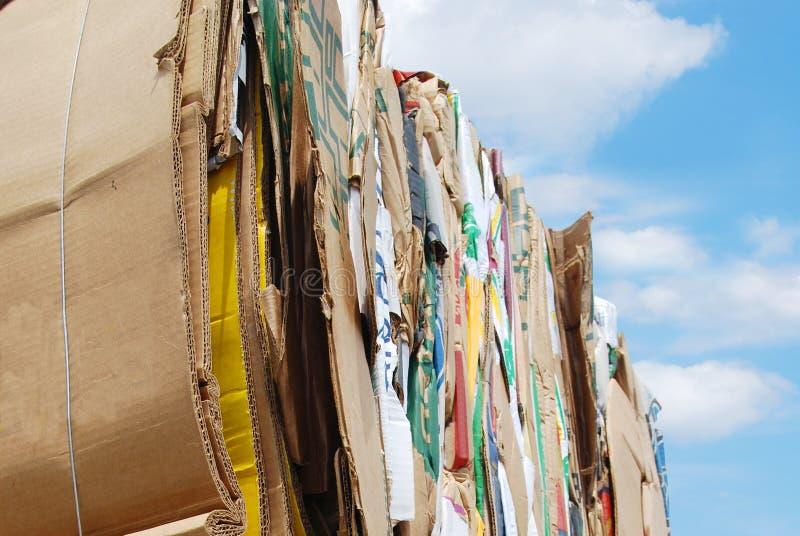 Papierafval stock afbeeldingen