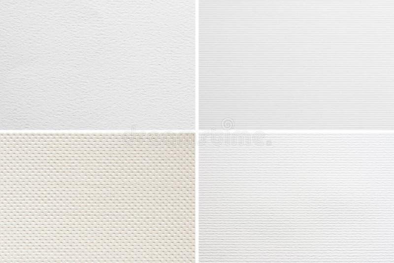Papierbeschaffenheiten lizenzfreie stockbilder