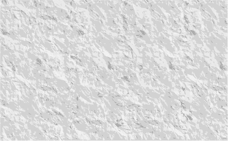Papierbeschaffenheitshintergrund, zerknitterter Papierbeschaffenheitshintergrund Vec lizenzfreie abbildung