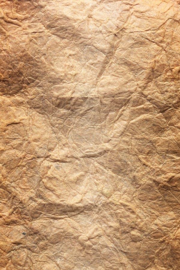 Papierblatt des braunen Papiers der beschaffenheit stockbilder