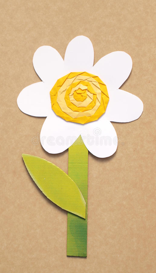 Papierblume lizenzfreies stockbild